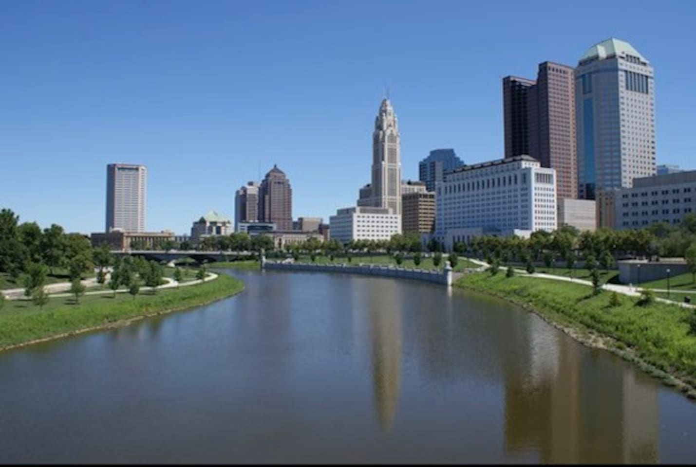 Downtown Columbus, OH.