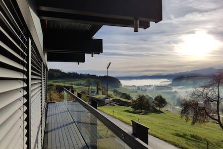 Aussicht und Ruhe, mit Blick auf den Alpstein - Kirchberg