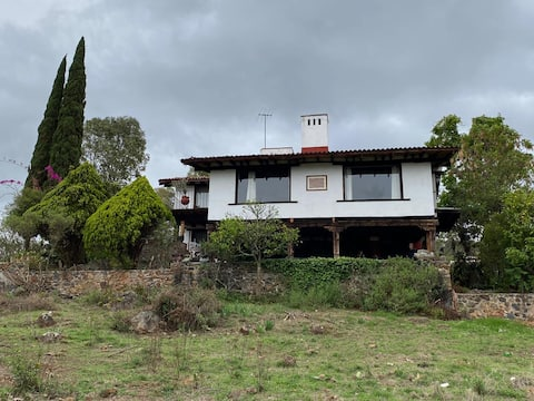Villa del sol, house overlooking lake Patzcuaro