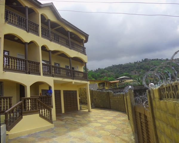 Freetown Home with a View