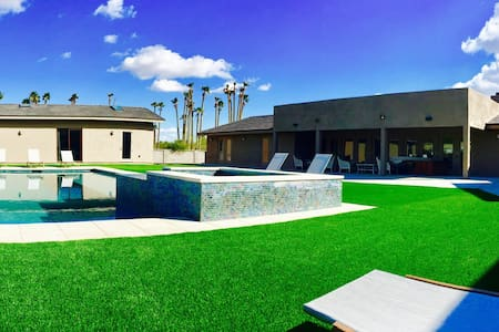 Modern Pool/Spa side Guest house 2bd/2ba - Paradise Valley