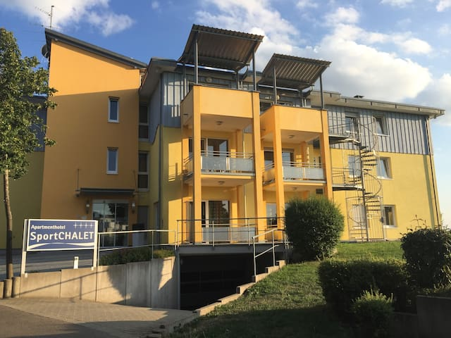 Apartmenthaus SportCHALET - 3-Zimmer-Apartment - Bad Dürrheim - Apartament