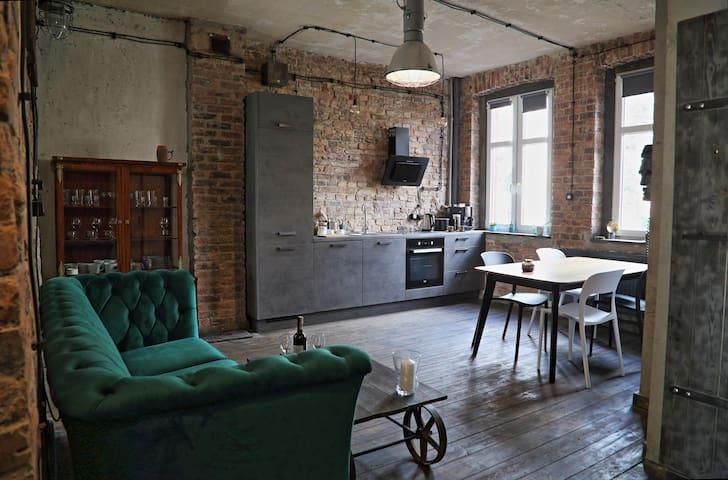 Apartament Miner's Loft - Nikiszowiec Katowice