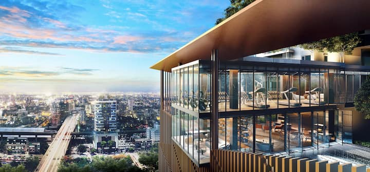 Luxury condo@Superb skyline view