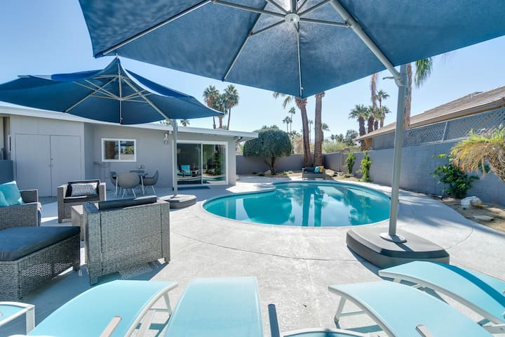 Palm Desert- 3BR/2BA   Pool/No Jacuzzi, outdoor seating area/BBQ