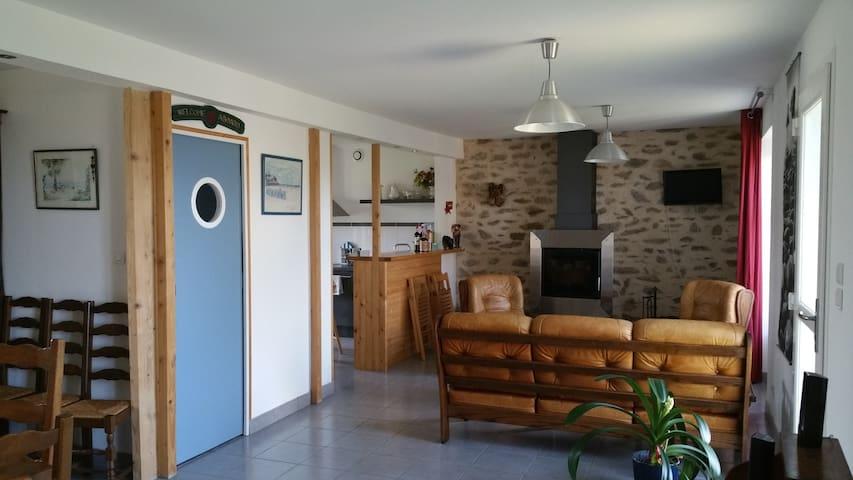 Maison 7 chambres bord de mer - Plounéour-Trez - Huis