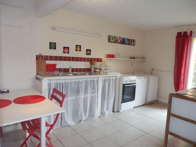Studio aux portes du Périgord Noir - Le Buisson-de-Cadouin - Apartment