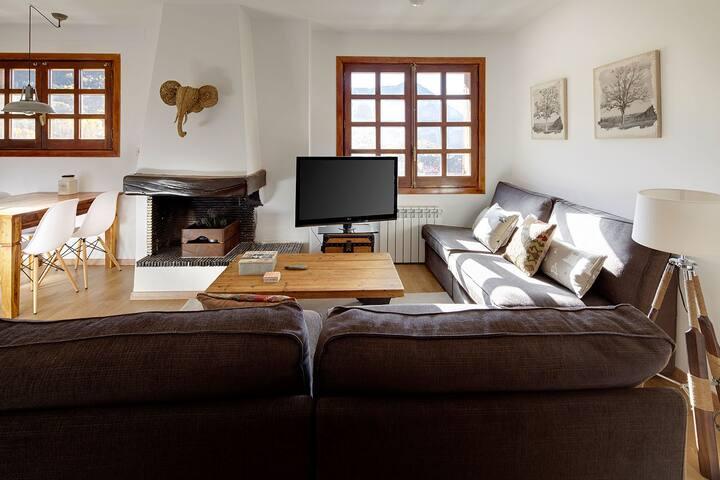 Acogedor apartamento de 2 habitaciones en Salardú