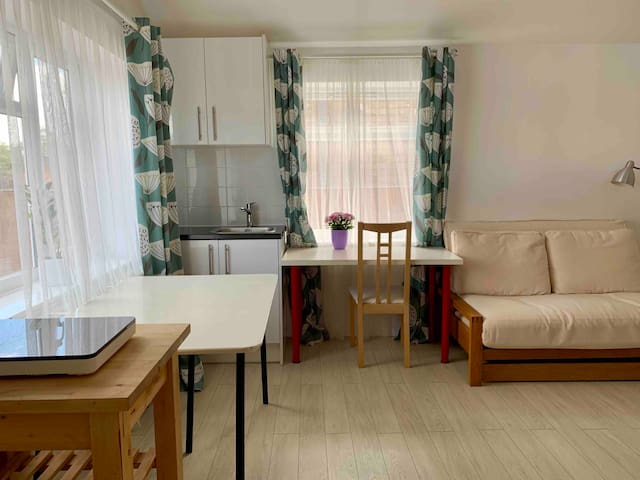 Bright and airy flat, brand new!