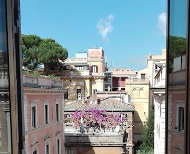 Cozy & spacious room w amazing view, near Termini - 罗马