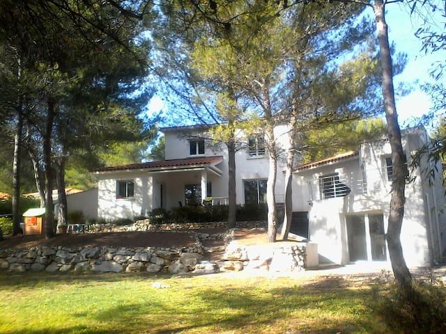 Villa familiale 230 m2 - piscine plage/montpellier - Castelnau-le-Lez - Villa
