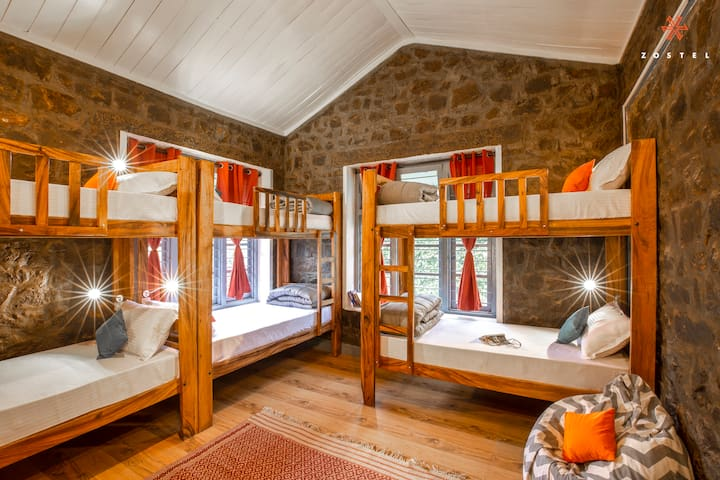 A Bed in 8 Bed Mixed Dorm in Kodaikanal