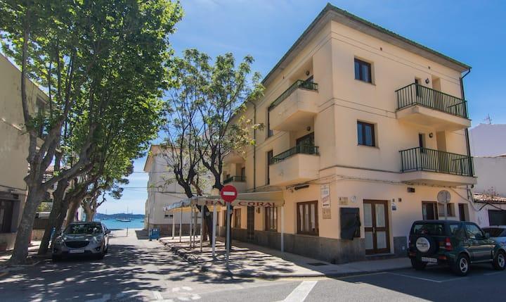 Apartamento Coral, tranquilo frente al mar.