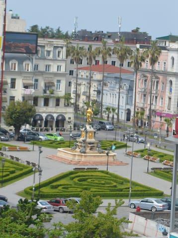 Excellent apartment in the center of Batumi