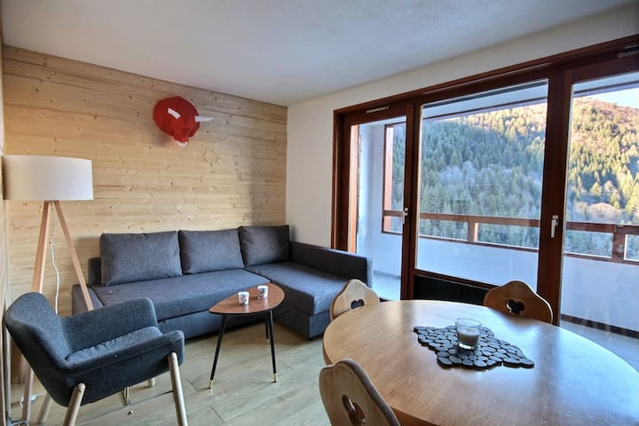 Apartment with swimming pool and WIFI access - Saint Jean d'Aulps ski resort - 4 people - Daille S18
