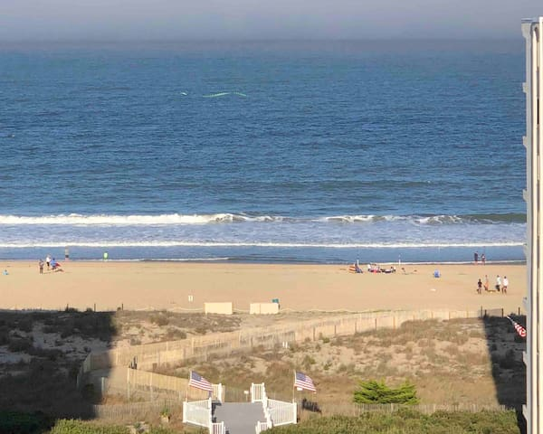 Great 2b/2b, ocean block condo with views in OCMD!