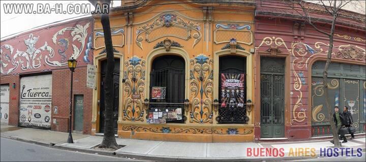 Alojamiento Habitación Dormitorio en Buenos Aires