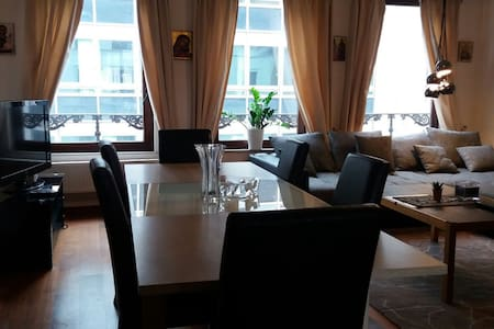 Beautiful flat with a terrace in core of Brussels - Bruxelles - Appartamento