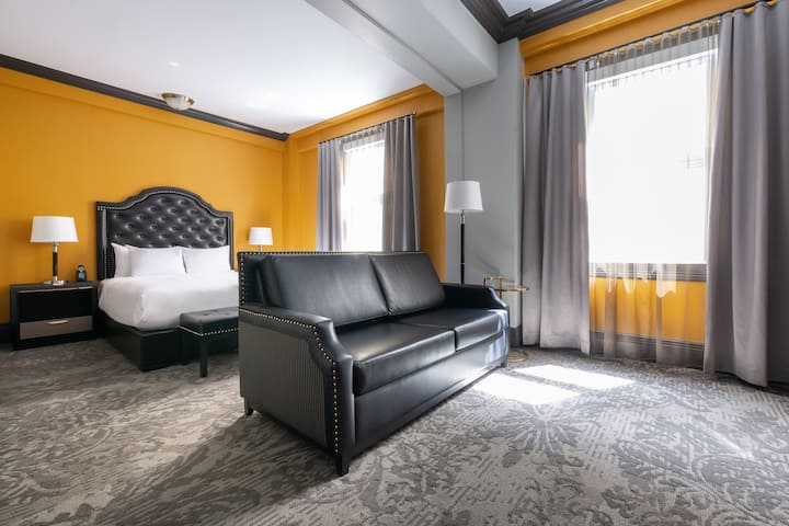 Hotel Clarendon, chambre Exécutive 1 lit Queen