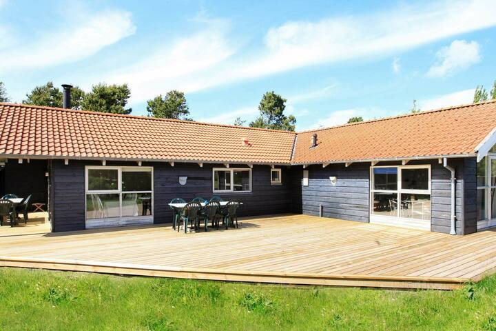 Modern Holiday Home in Hals with Swimming Pool