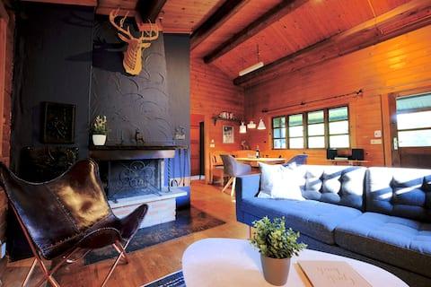 Hytte Willingen - Hyggelig træhytte i Upland