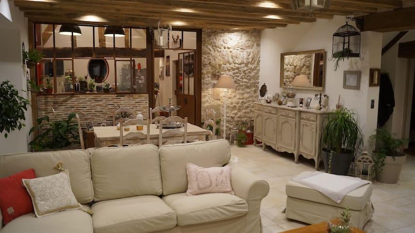 La Chabardière ,maison proche de chambord. - Mont-prés-Chambord - 一軒家