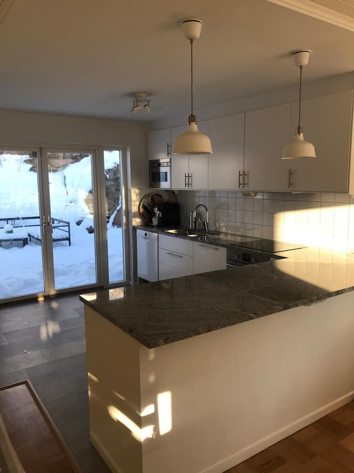Trevlig villa på Hisingen för 1-2 familjer