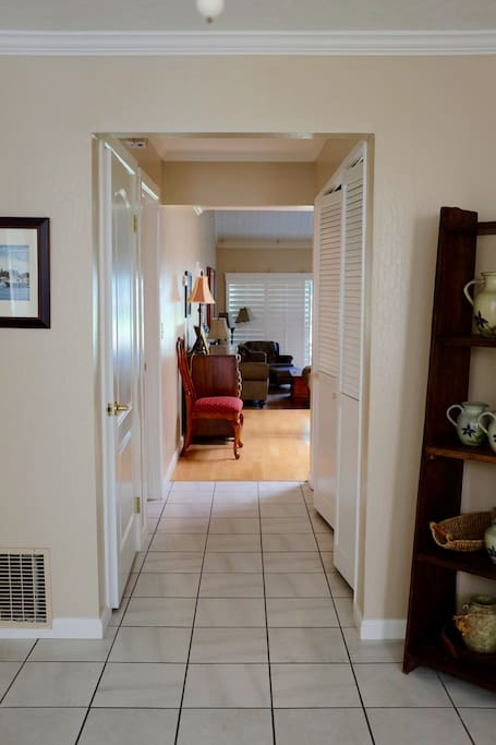 Large Foyer. Home is 1875 sq.ft.