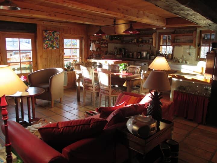 Chambre d'hôte TOUSSAINT vallée Courchevel Méribel