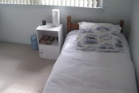 Bedroom  - single bed - Yowie Bay - Ev