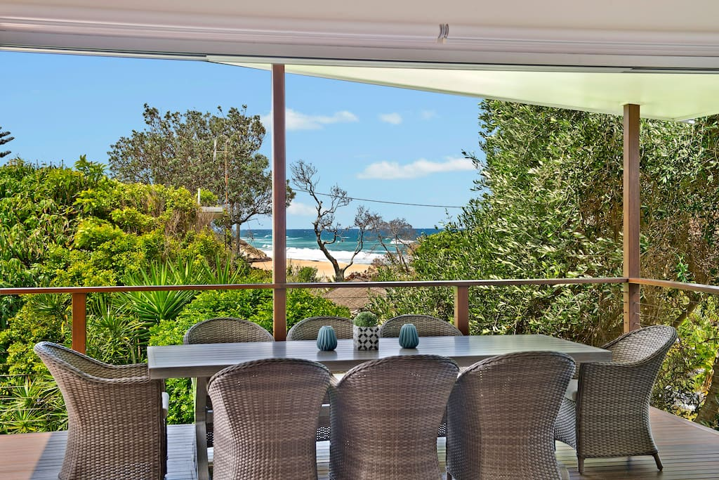 Enjoy the views off the deck