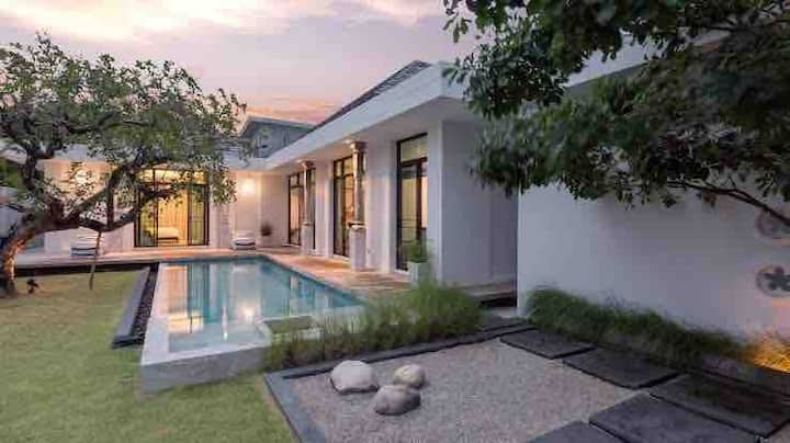 VS【大唐盛世】超美中国风三卧泳池别墅Luxury Chinese style pool villa