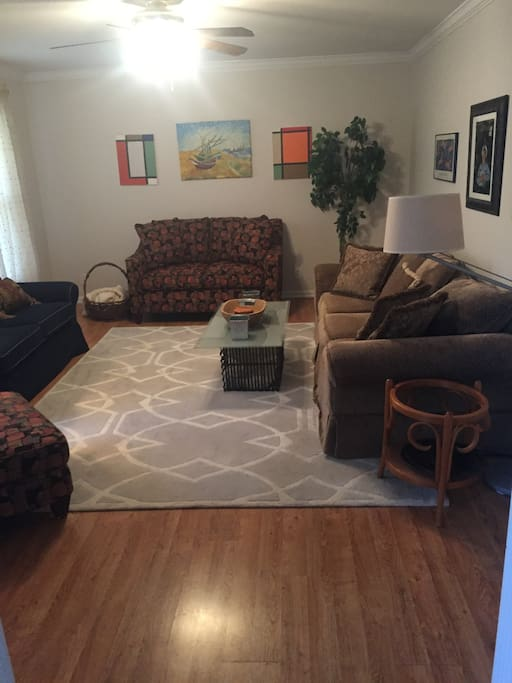 one  living room areas