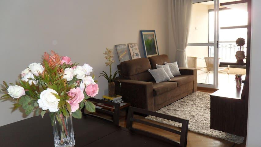Charming apartment near Metrô Conceição - São Paulo - Daire
