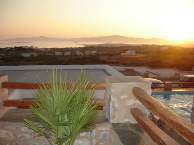 Paros Panoramic Seaview Villa - Aliki