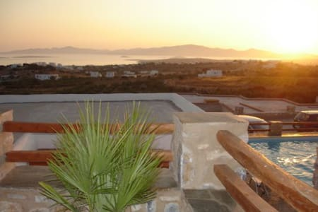 Paros Panoramic Seaview Villa - Aliki - Villa