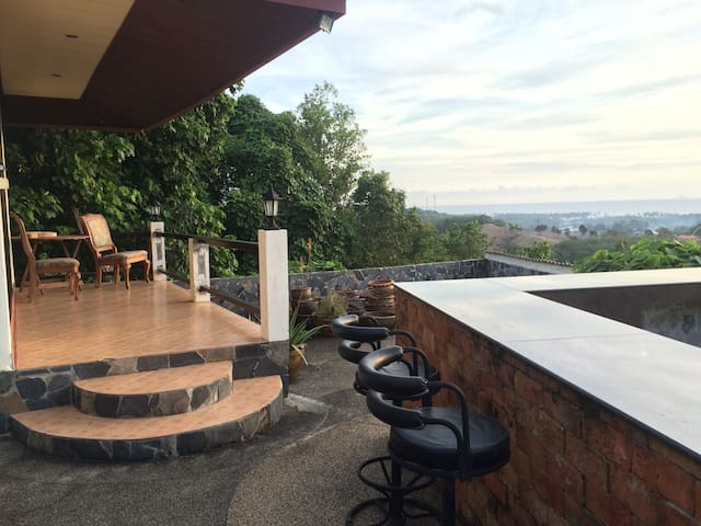enjoy the view from your deck or BBQ island