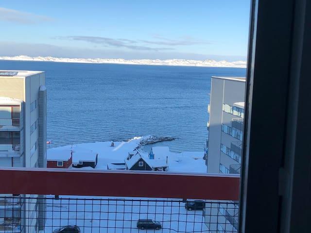 Værelse tæt på Nuuk Centrum