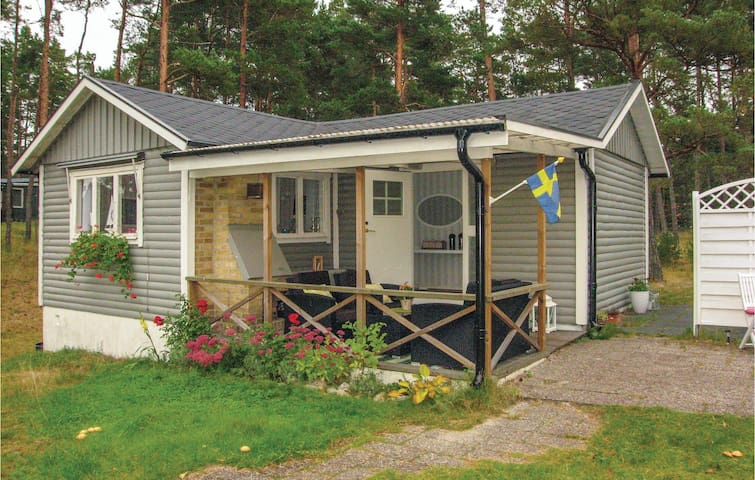 Holiday cottage with 3 bedrooms on 50 m² in Yngsjö