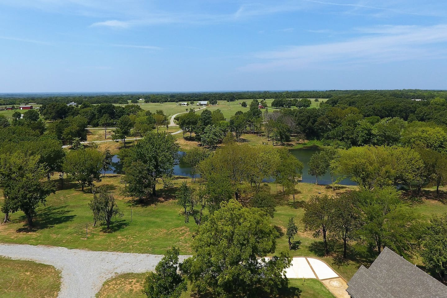 Fleming Orchard - Front Aerial View