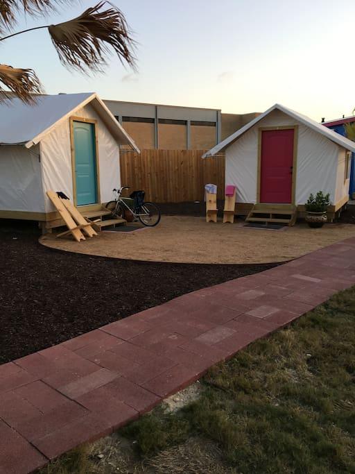Tent Bungalows