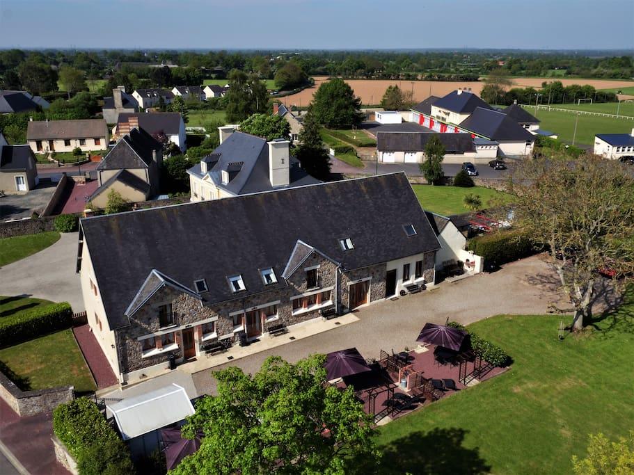 Les Gîtes Champêtres - Oak, Chestnut et Walnut cottages