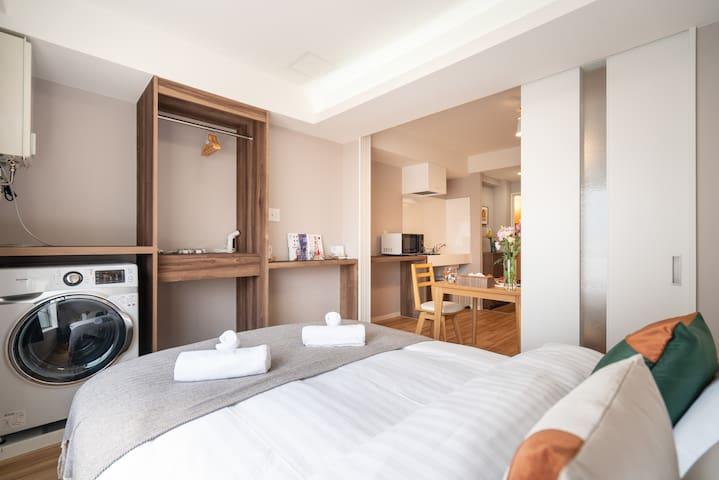 New-design cozy room near Asakusa/Skytree