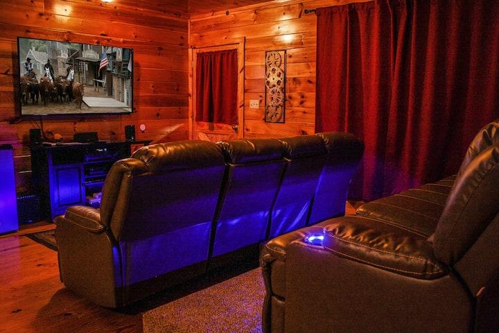 Ole Smoky Rodeo Luxury Cabin, Cinema Theatre