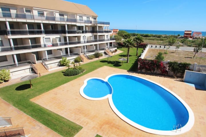 Apartamento nuevo en playa Les Deveses, Dénia