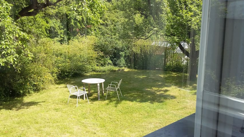 Sunny Space with River View: City & Vienna Woods. - Vienna - Rumah