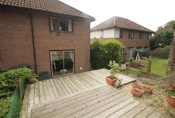 Cosy 1 bedroom house in Cwmbran - Cwmbran - Huis