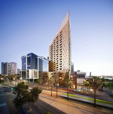 Our building in the Docklands landscape