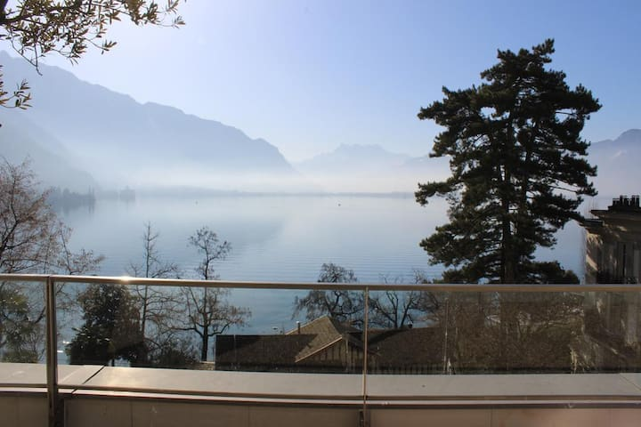 Room in Montreux.