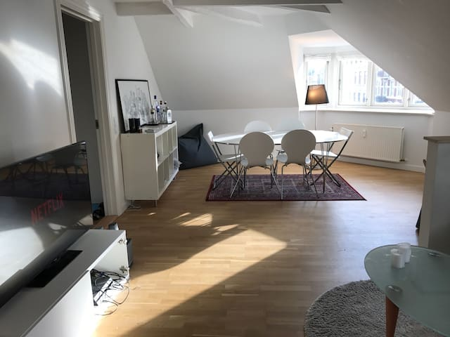 Central big apartment with 2 balconies  (120m2)